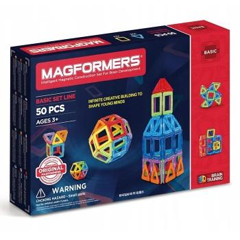 Magformers - Zestaw 50 klocków
