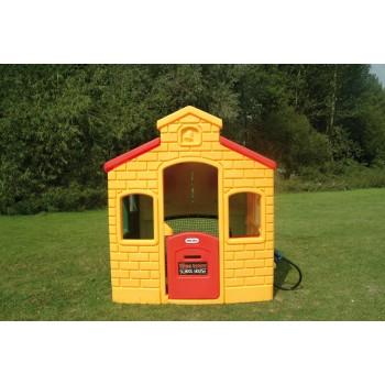 Miejski domek - żółty