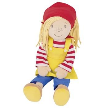 Miękka lalka Peggy - 28 cm