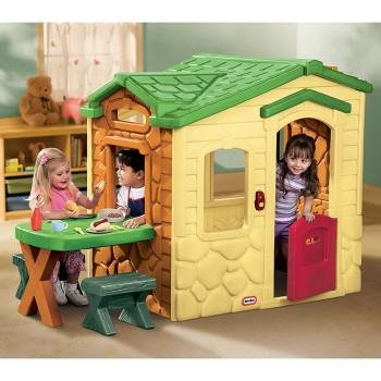 Domek Piknikowy z Patio i dzwonkiem Little Tikes