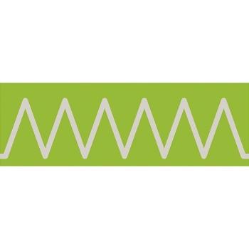 Sensoryczne szlaczki szorstkie - Zygzaczki