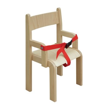 Krzesło z pasem - 21 cm