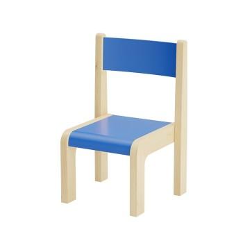 Krzesła kolorowe drewniane - 21 cm