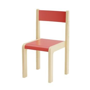 Krzesła kolorowe drewniane - 31 cm