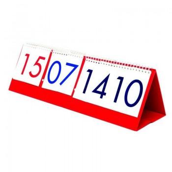 Zegar analogowo-cyfrowy z kalendarzem