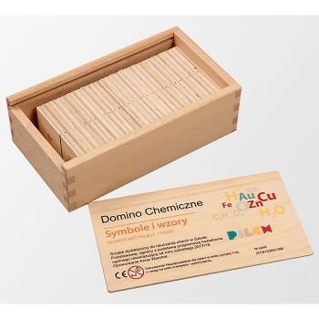 Chemiczne domino Symbole i wzory