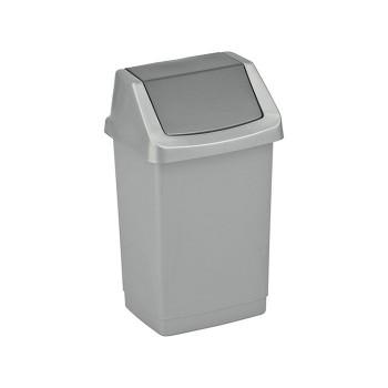 Kosz na śmieci uchylny 25L - Grafitowy