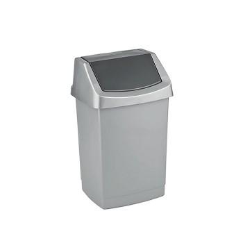Kosz na śmieci uchylny 9L - Grafitowy