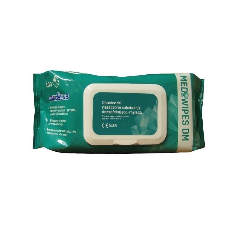 Chusteczki dezynfekujące Mediwipes DM - 100 szt