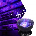Projektor fal - Lampka nocna + Muzyka + Pilot