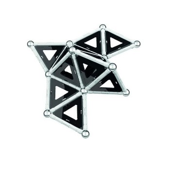 Klocki magnetyczne - 64 elem.