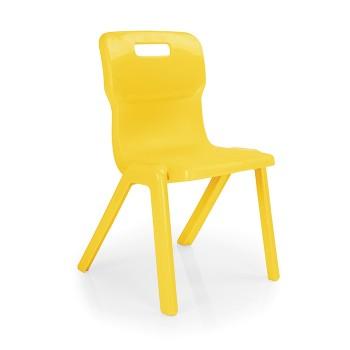 Krzesło przedszkolne - jednoczęściowe T2 - 31 cm
