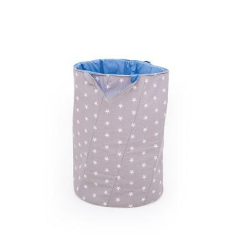 Koszyk w gwiazdki na zabawki, niebieski wysoki