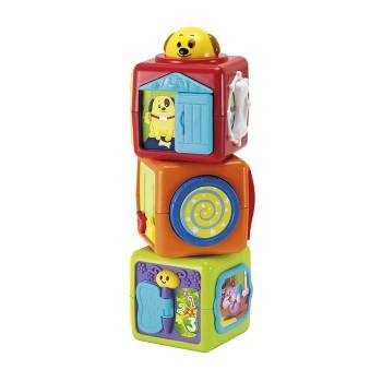 Wieża z klocków