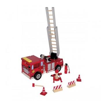 Wóz strażacki z drabiną