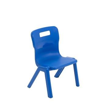 Krzesło antybakteryjne przedszkolne - jednoczęściowe T1AN - 26 cm