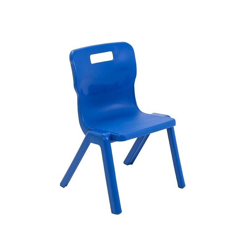 Krzesło antybakteryjne przedszkolne - jednoczęściowe T3AN - 35 cm