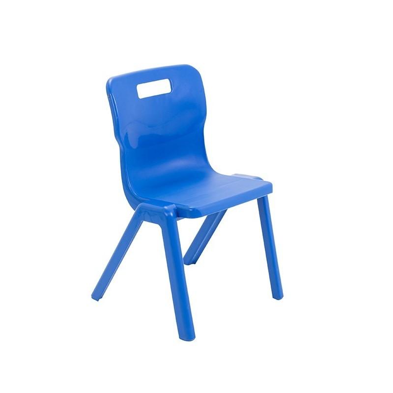 Krzesło antybakteryjne przedszkolne - jednoczęściowe T4AN - 38 cm