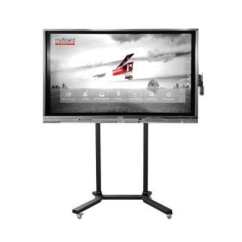"""Monitor interaktywny myBoard GREY LED 65"""" 4K UHD z andoidem + statyw mobilny"""
