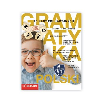 Gramatyka - 28 kart edukacyjnych