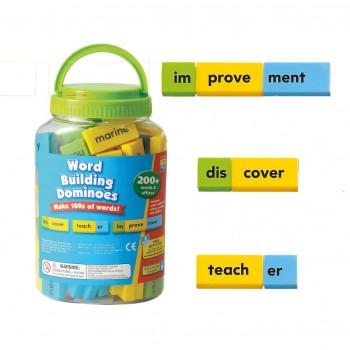 Budowa wyrazów - domino angielskie