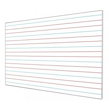 Tablica w linie kolorowe dla klas 1-3 magnetyczna, suchościeralna