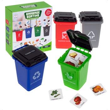 Gra logiczna segregacja śmieci