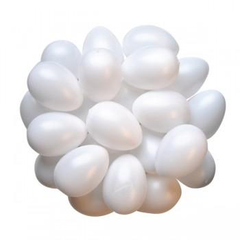 Plastikowe jajka 25 szt.