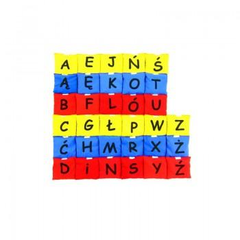 Woreczki - kolorowy alfabet...