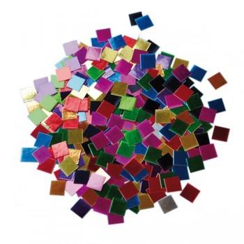 Mozaika papierów metalicznych 250g
