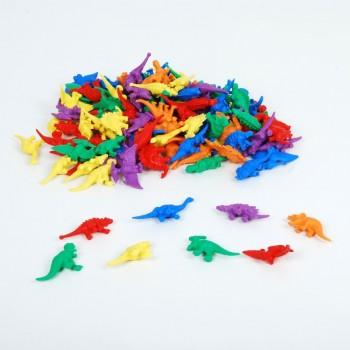 Liczmany dinozaury 128 szt