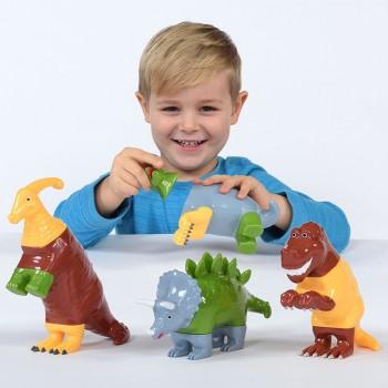 Dinozaury- klocki...