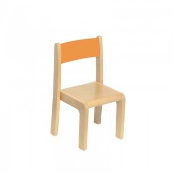 Krzesełko drewniane  - 31 cm