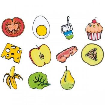Stemple Piramida żywności