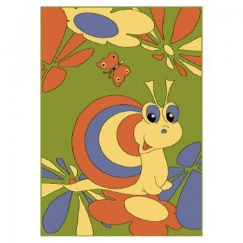 Dywan Ślimak Maciuś- zielony