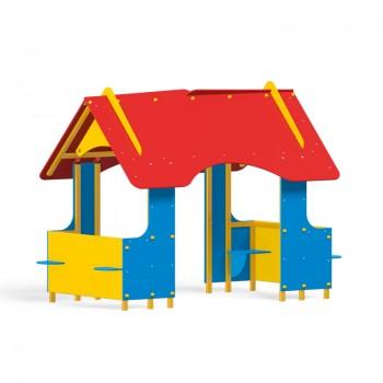 Kolorowy domek