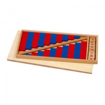 Drewniany zestaw klocków...