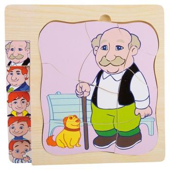 Puzzle dziadek