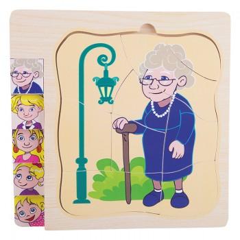 Puzzle babcia