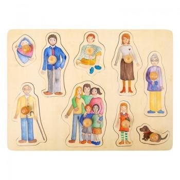 Puzzle- rodzina i przyjaciele