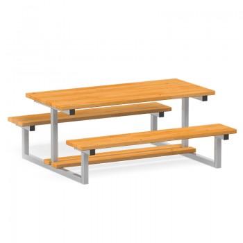 Stół z 2 ławkami