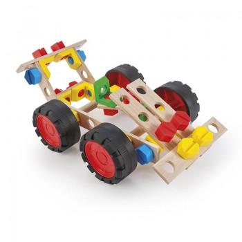 Mały konstruktor- Wyścigówka