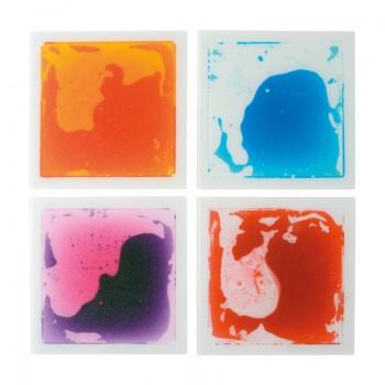 Żelowe maty kwadraty 4 sztuki