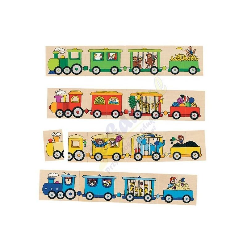 Dopasuj wagony i lokomotywy