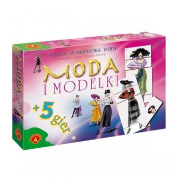 Moda i modelki + 5 gier