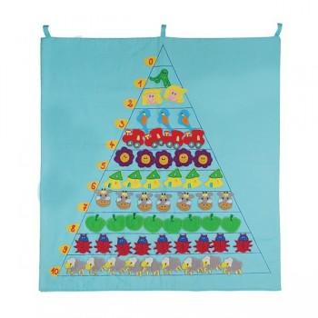 Piramida tekstylna - ilości