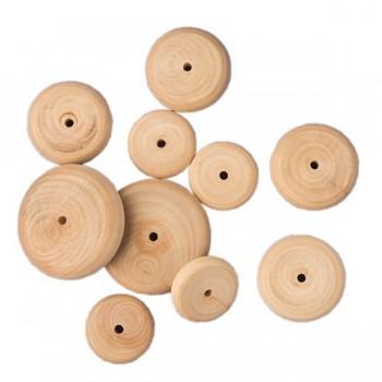 Pastylki drewniane 50 szt. - 63 x 16 mm