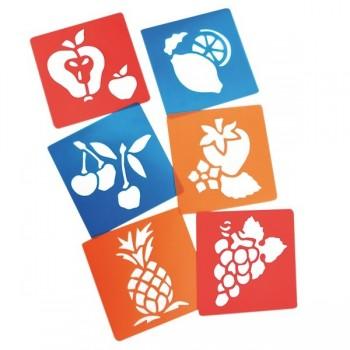 Szablony - owoce