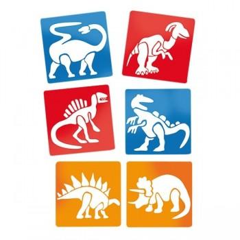 Szablony - dinozaury