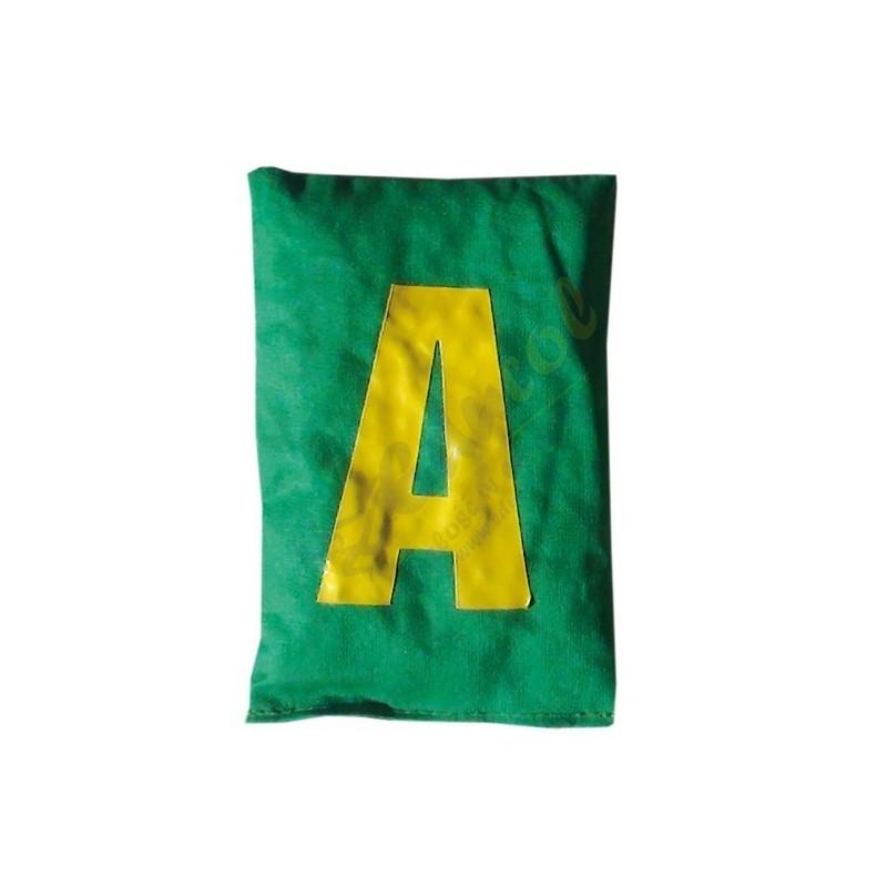 Woreczki z grochem litery A - Z